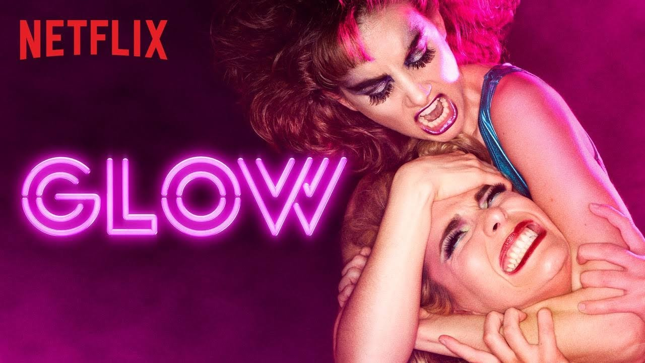 Netflix desktop GLOW wallpaper
