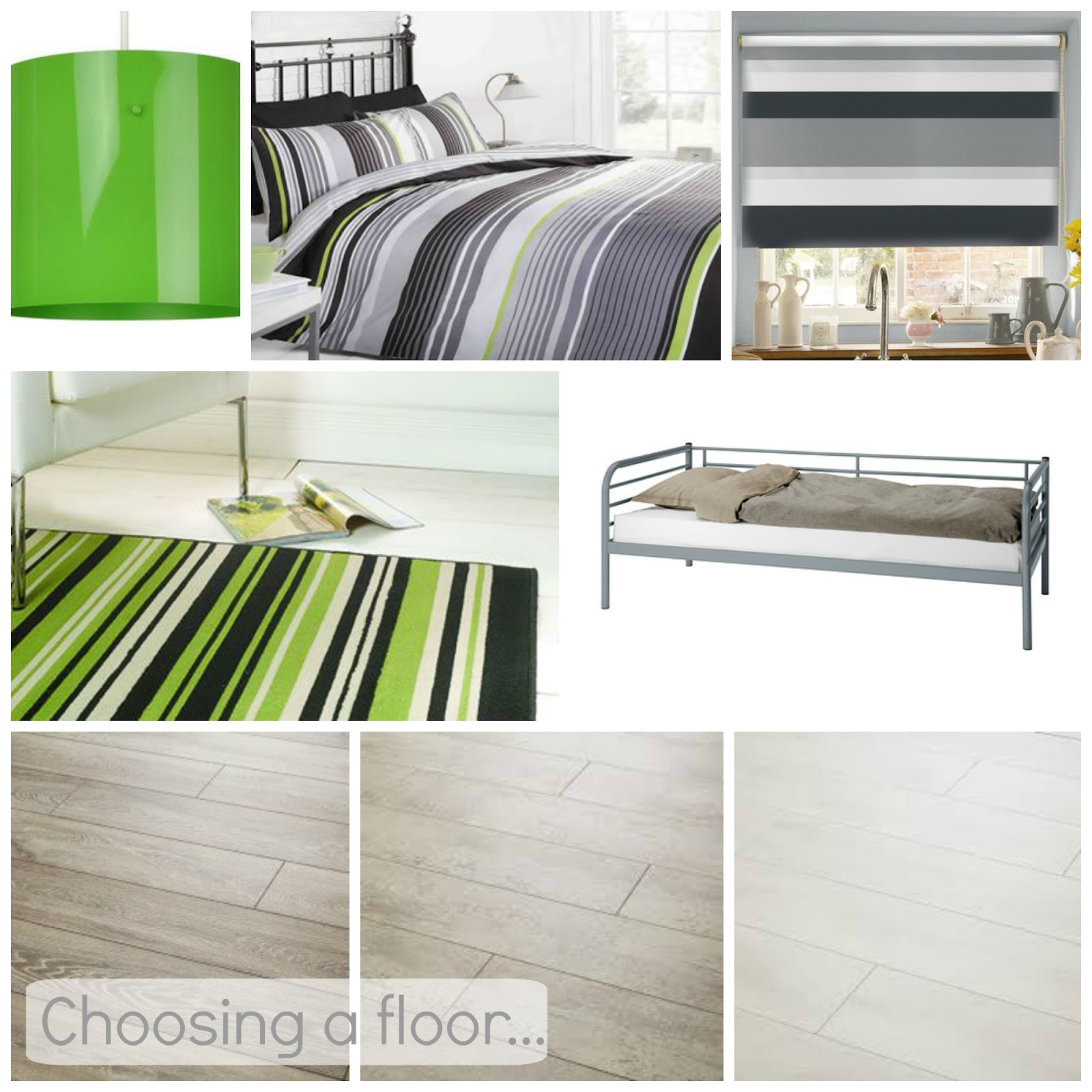 , Choosing a Floor for Danny's Bedroom