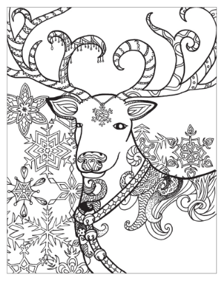 The Reading Frenzy: Showcase #Giveaway Zendoodle Coloring