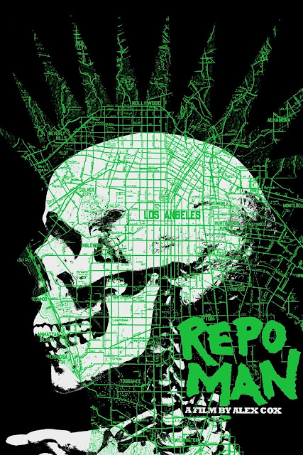 Repo Man Movie Poster by Jay Shaw & Tyler Stout