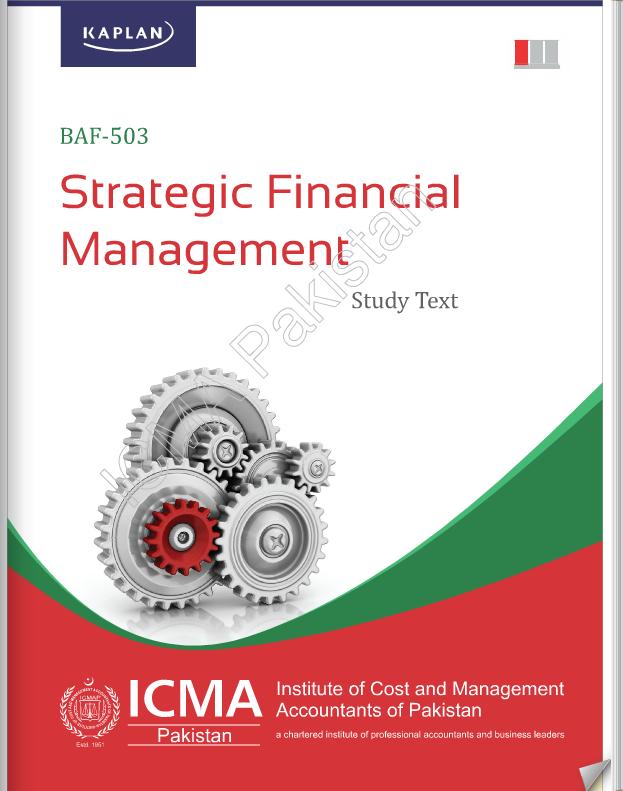 BAF-503: STRATEGIC FINANCIAL MANAGEMENT