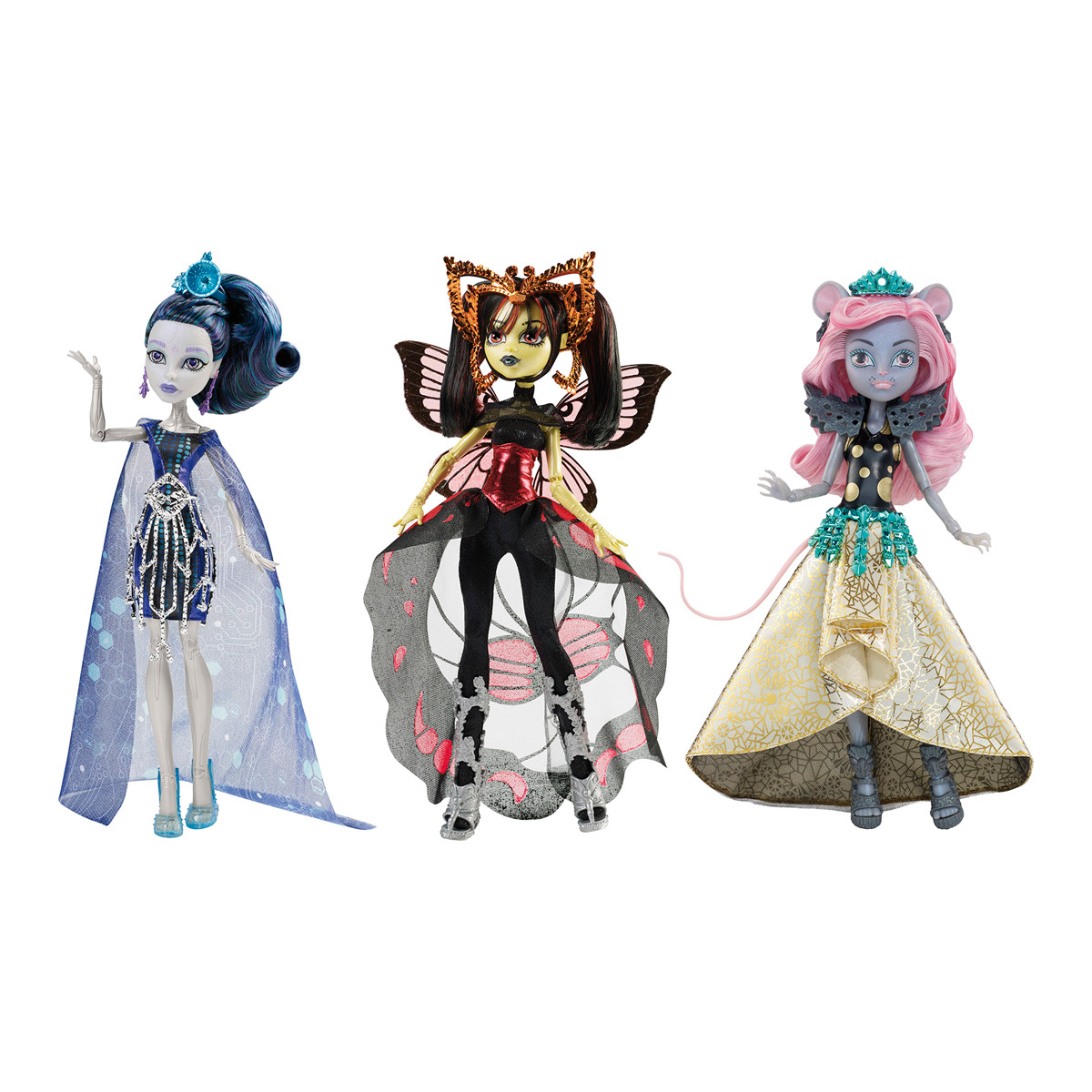 Monster High Pretty Munecas Monster High Monstruo York A