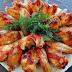 Куриные крылышки в медово-соевом соусе.