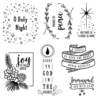 D1734 Prince of Peace stamp set
