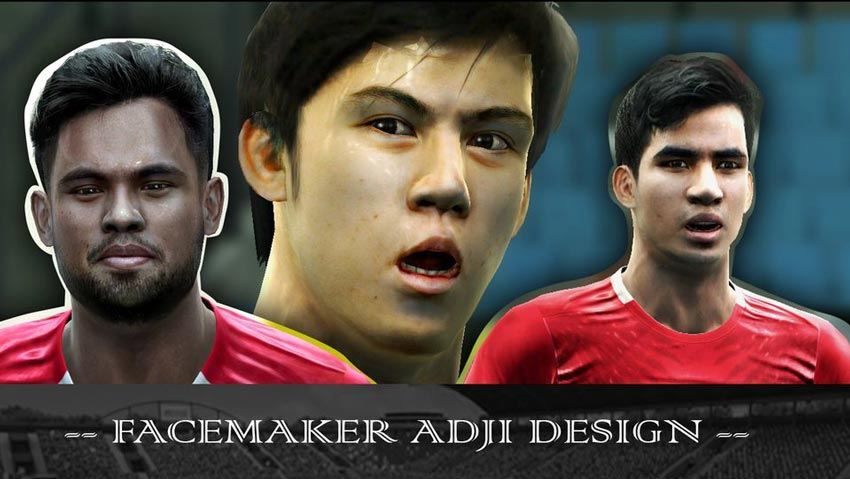 Facepack Indonesia For PES 2013