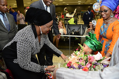 Ekiti PDP raises questions over Aisha Buhari's US trip, asking why there was no International coverage