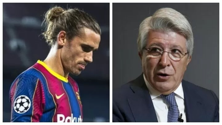 Cerezo: I don't think Atletico Madrid's fans will forgive Griezmann
