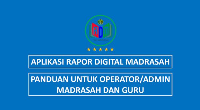 Panduan RDM untuk operator/admin Madrasah dan Guru