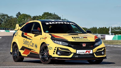 Di Pilih Sebagai Safety Car Resmi Honda Civic Type R Limited Edition Kawal WTCR 2020