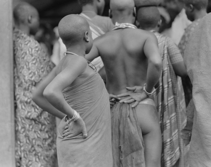 Akan African tribe in 1930