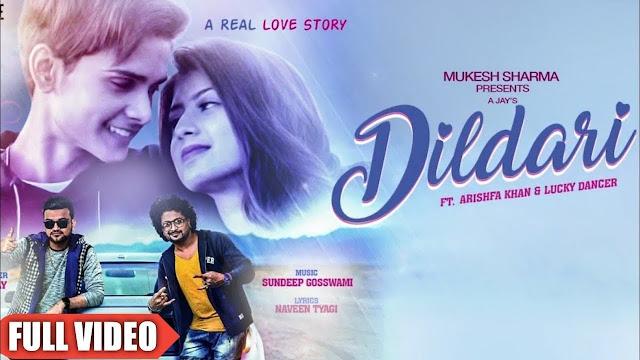 Dildari Lyrics - A Jay  | ft Arishfa Khan