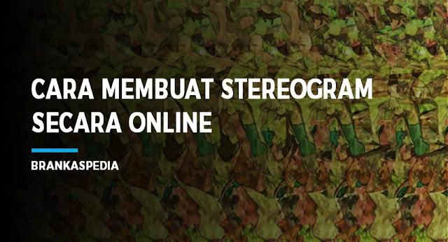 Cara membuat stereogram secara online