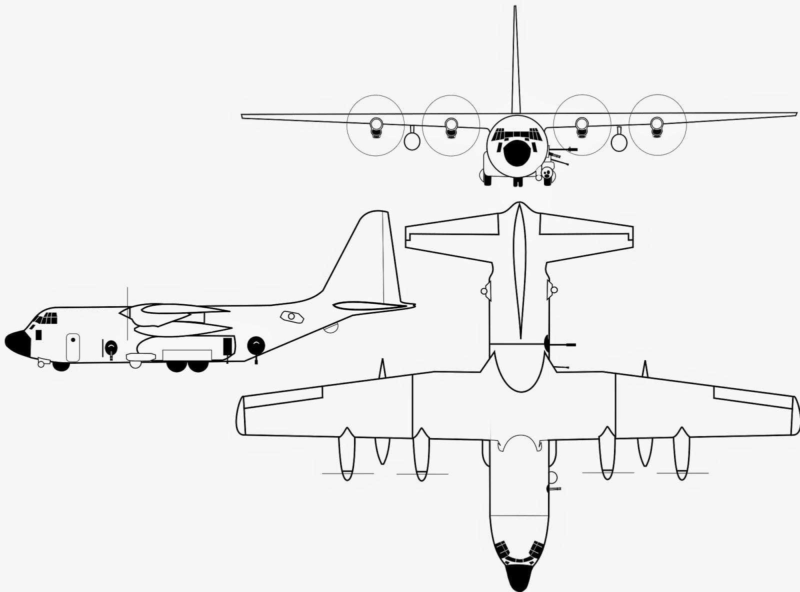 United States Air Force Ac 130h Spectre Ac 130u Spooky Ii