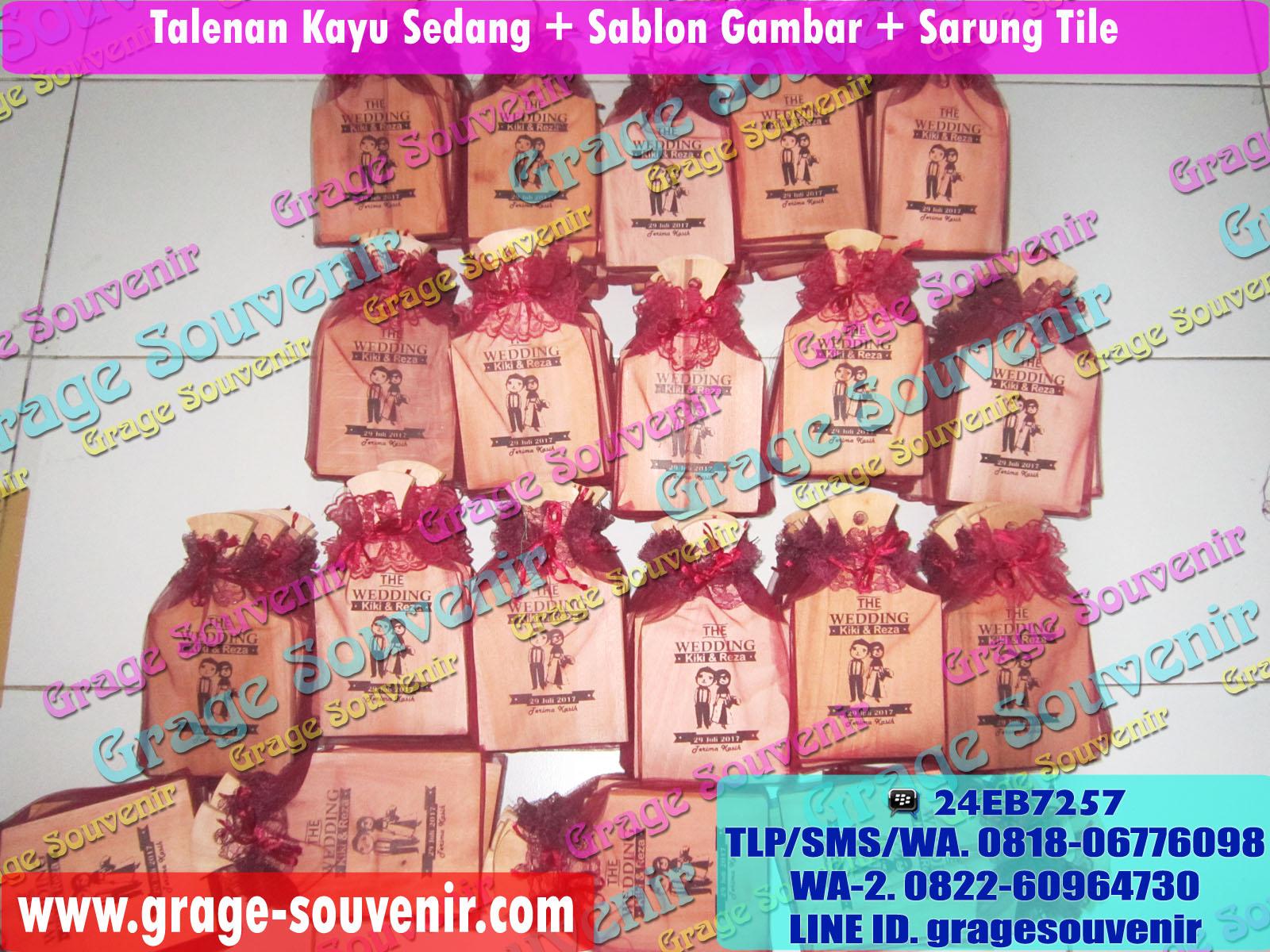 Jual souvenir pernikahan di Palembang