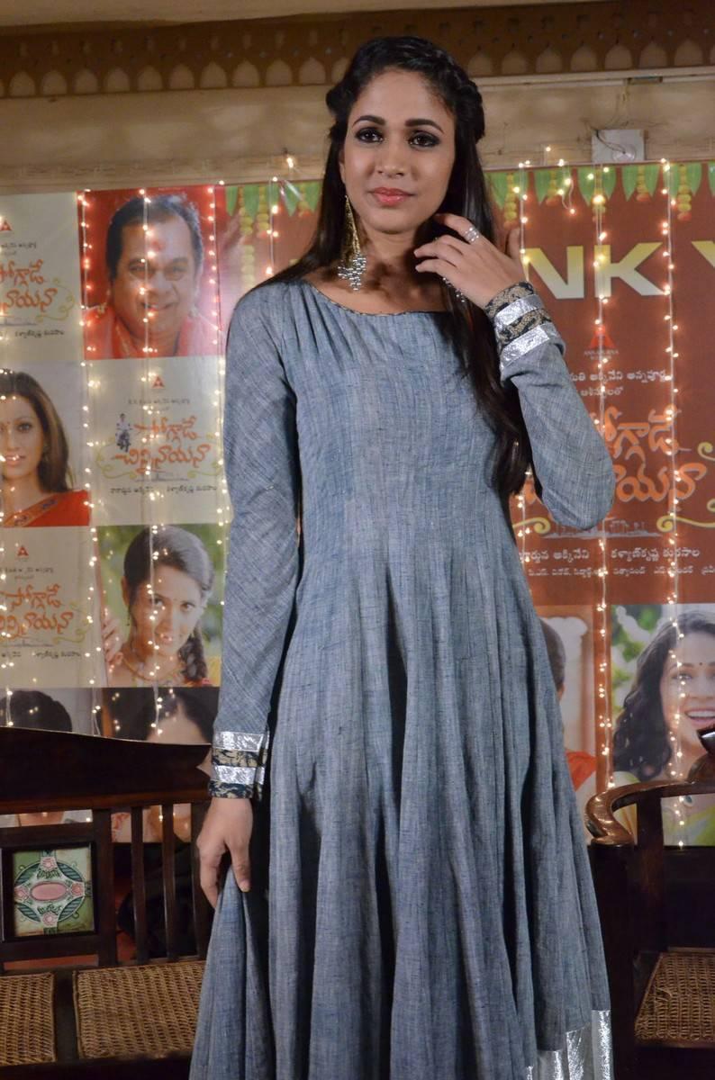 Lavanya Tripathi Latest Hot Photos In Blue Dress