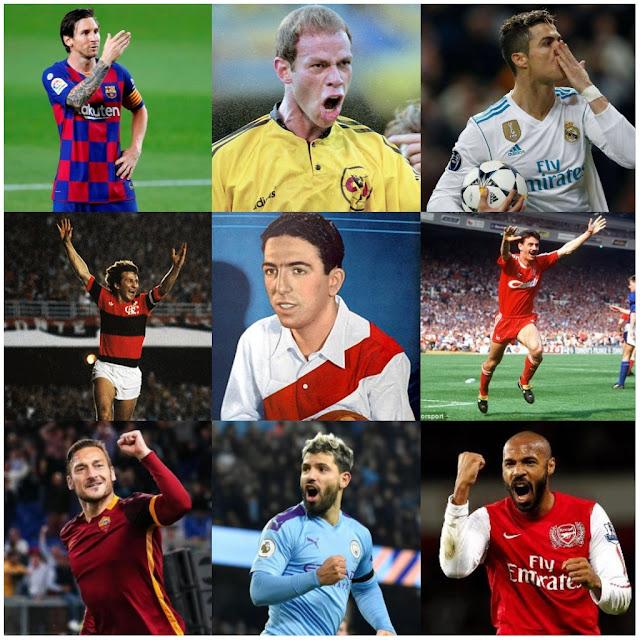 Los dueños del gol