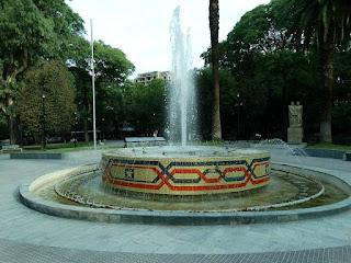 Fonte da Plaza Chile, Mendoza
