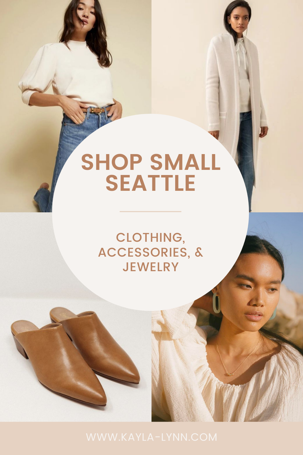 Shop Small Seattle: Clothing Edition Pinterest image