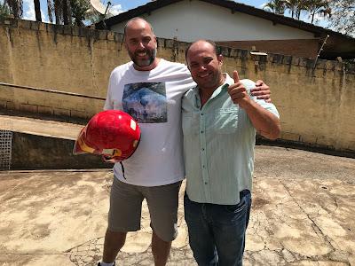 Diego e Zé Hélio, paixão por motos e competições