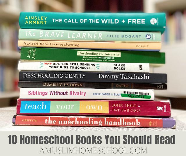 10 homeschool books you should read
