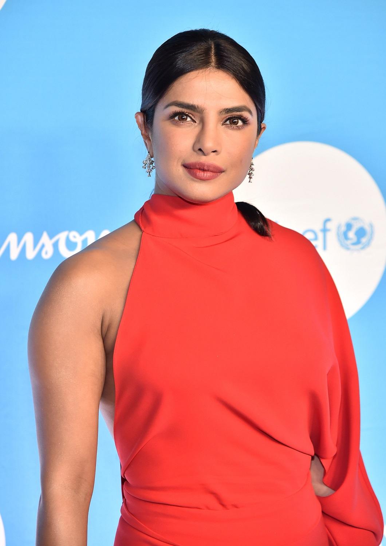 Priyanka Chopra puts curves on show at the UNICEF Snowflake Ball in NYC