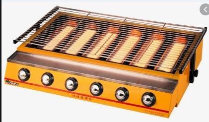 BẾP NƯỚNG BẰNG GAS MODEL ET-K233