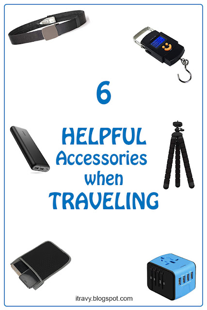 Accessories needed for traveling