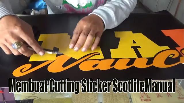membuat-cutting-stiker-scotlite-manual