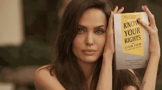 """Angelina Jolie's Book """"Know Your Rights and Claim Them: A Guide for Youth"""" Launched"""