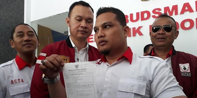 ACTA Resmi Laporkan Pertemuan PSI-Presiden Jokowi ke Ombudsman