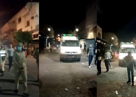 بسبب بؤرة لكورونا سجلت مئات الإصابات.. سلطات أسفي تغلق منافذ المدينة وتضع الساكنة تحت الحجر من جديد- فيديو