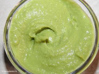 Piure de mazare cremos reteta de casa simpla vegetariana retete culinare mancare garnitura legume,