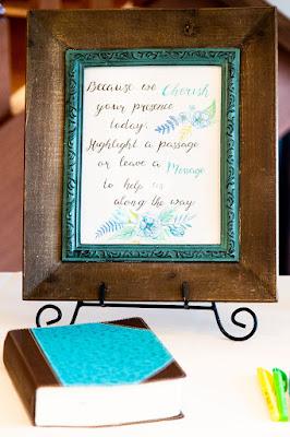 unique wedding guestbook bible