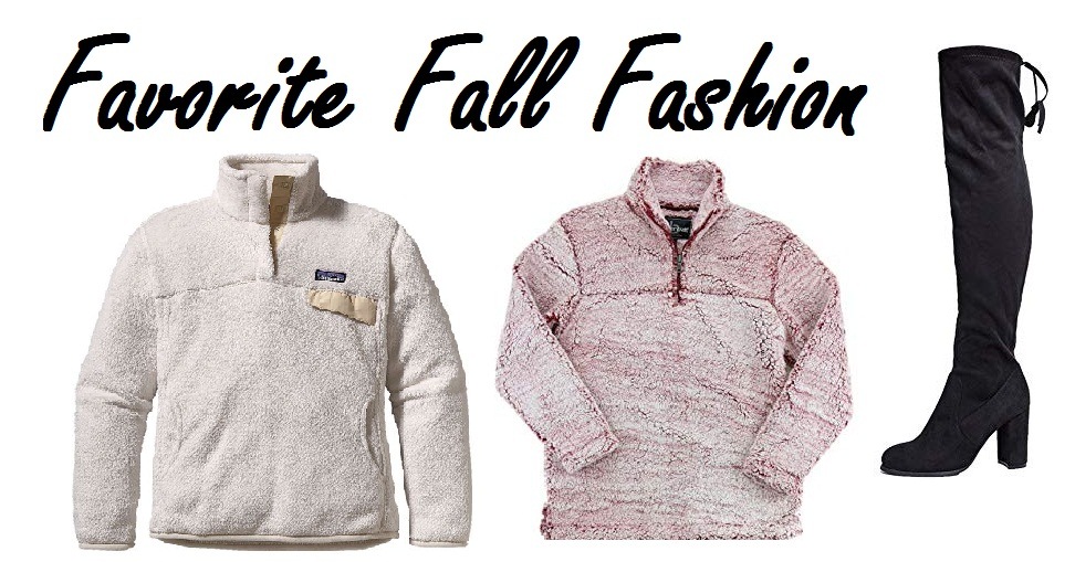 Favorite Fall Fashion