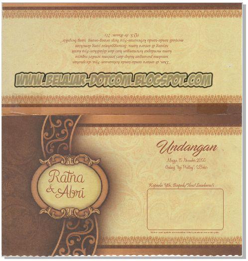 Download Settingan Undangan Jago 01 Format CorelDRAW