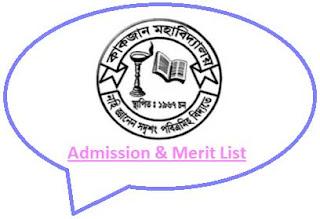 Kakojan College Merit List