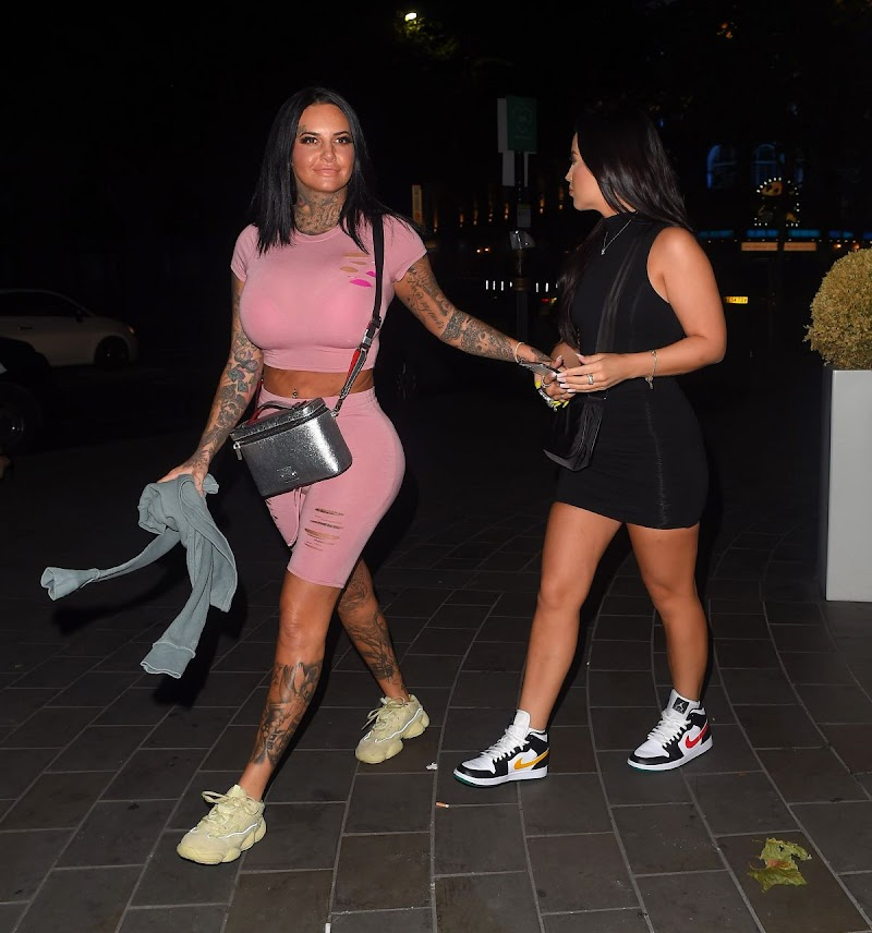 Jemma Lucy Noght Out in London 24 Aug -2020