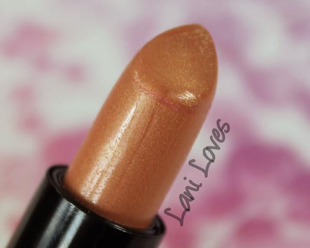 NYX Round Lipstick - Iris Swatches & Review