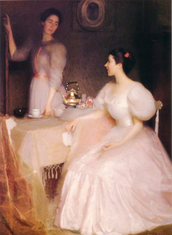 obra de arte de William McGregor Paxton