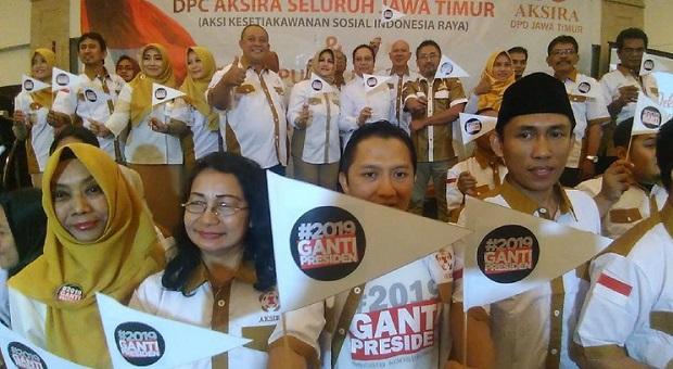 Askira Deklarasikan Diri Dukung Prabowo di Pilpres 2019