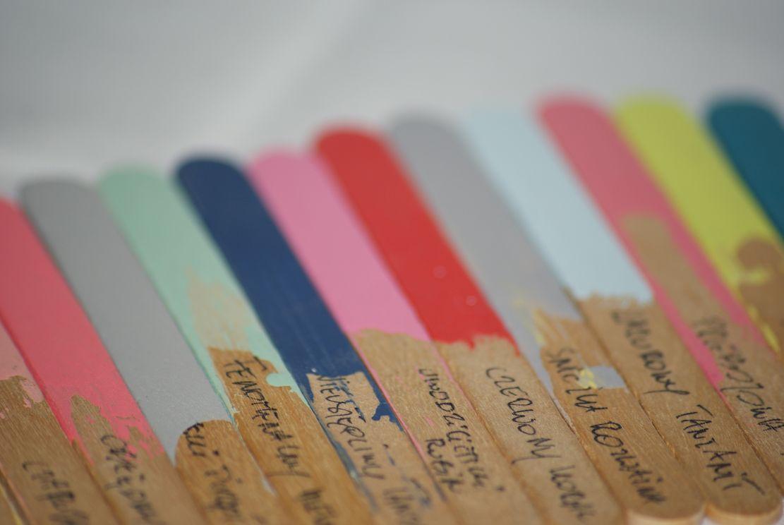 Projekt kolor #2 - kolorowy parapet