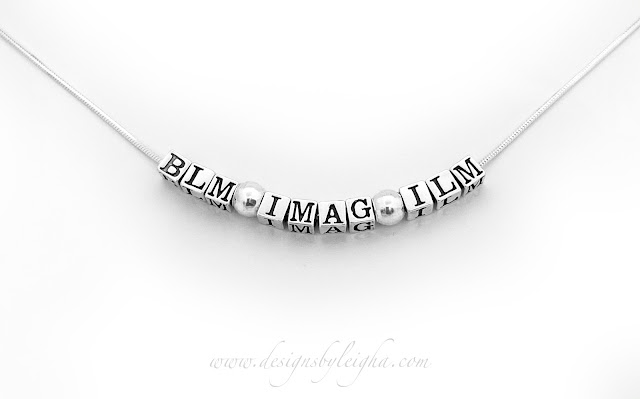 BLM IMAG ILM Stering Silver Snake Necklace