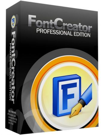 High-Logic FontCreator 13.0.0.2643 poster box cover