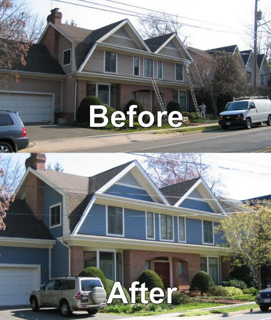 Do not hesitate to change the front color of your home