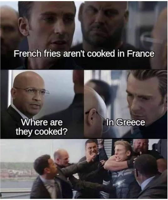 French Fries pun