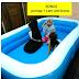 KOLAM RENANG ANAK 262x175 x51cm Bestway BONUS POMPA