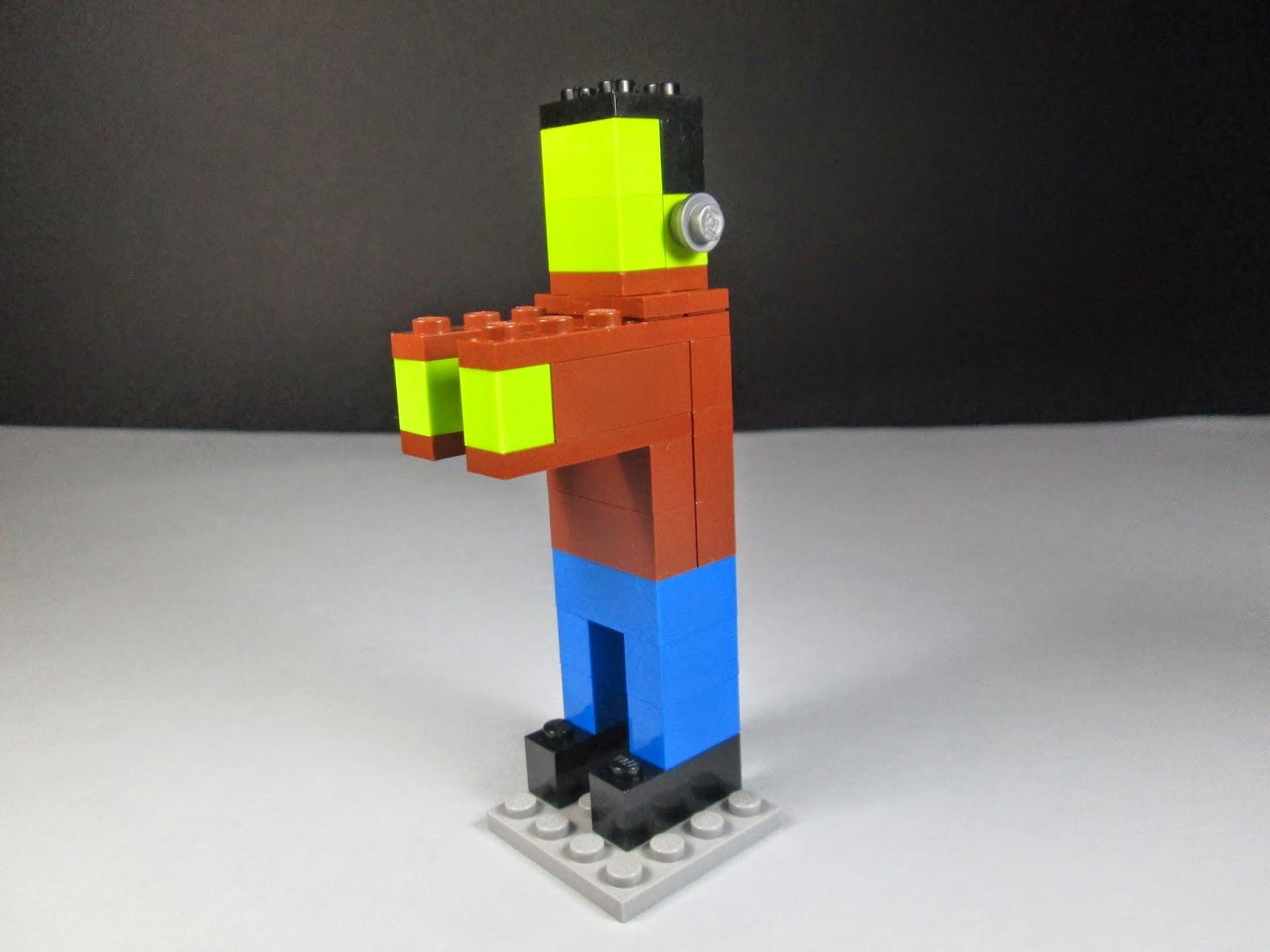 MOC LEGO Frankenstein Halloween