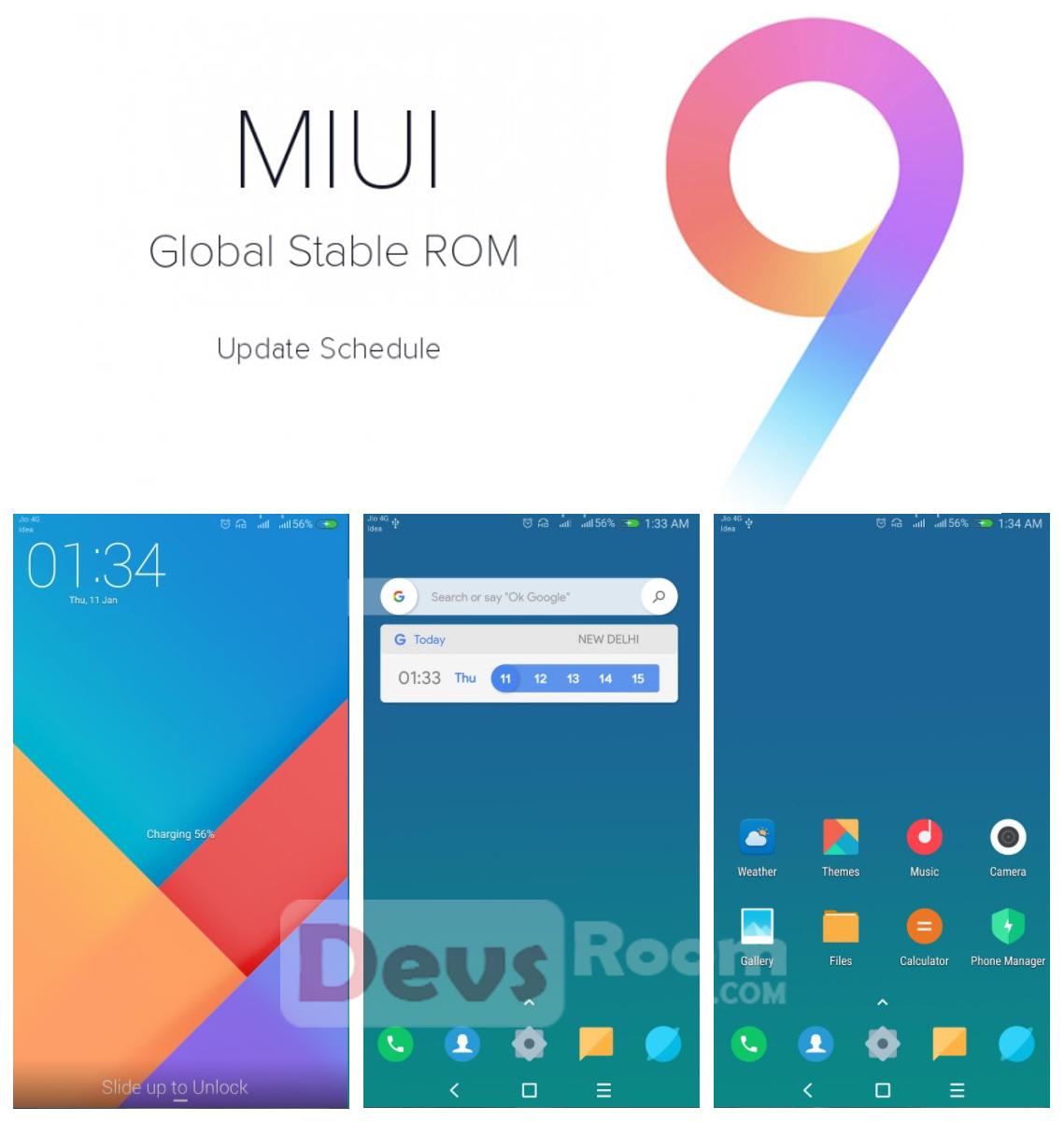Fitur terbaru MIUI 9 Global Stable Version