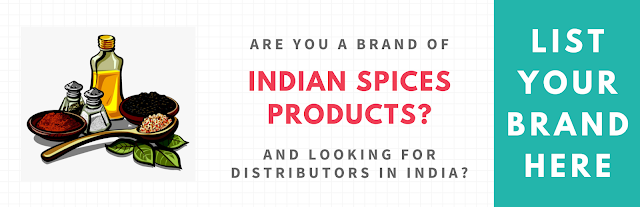 List Your Brand in Spices Brand Category Free...