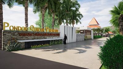 Penjelasan Seputar Kompleks Pesantren Modern Di Yogyakarta - View Depan Pesantren